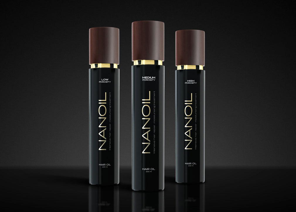 NANOIL - το καλύτερο λάδι για τα μαλλιά